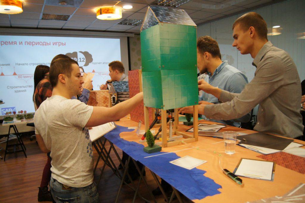 Бизнес игра в коворкинге ОАК (Москва)
